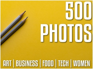 500 Commercial Licensed Stock Photos | Art | Business | Food | Tech | Women