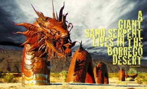 Giant Sand Serpent of Anza Borrego