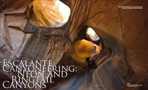 Escalante Canyoneering: Neon and Ringtail Canyons
