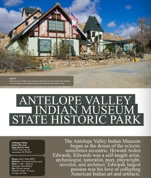 Antelope Valley Indian Museum State Park