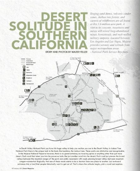 Desert Solitude in Southern California