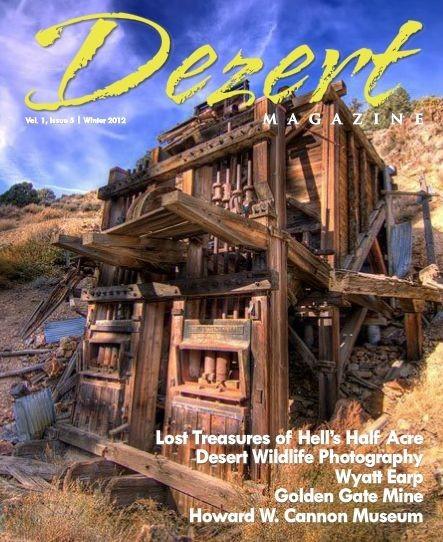 Dezert magazine Winter 2012