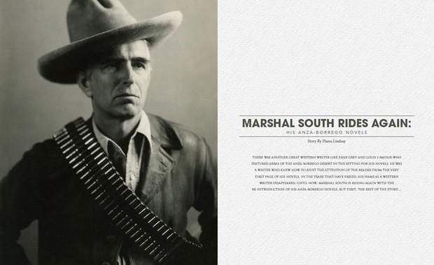 Marshal South Rides Again