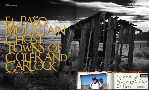 Trekking the El Paso's & Gosttowns of Garlock and Goler
