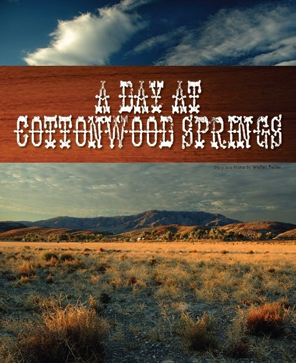 Revisiting Cottonwood Springs