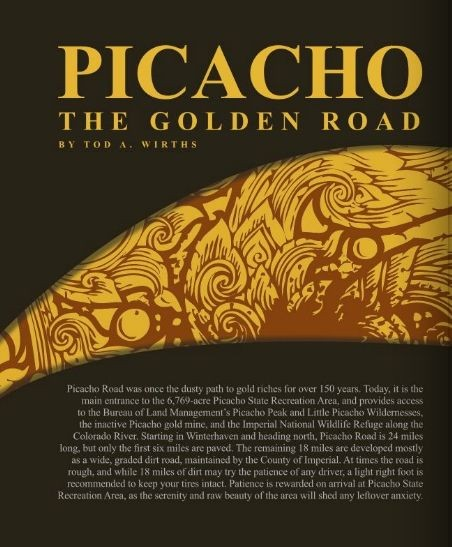 Picacho the Golden Road