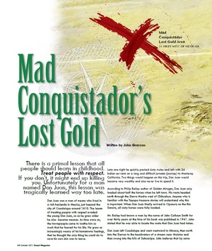 Mad Conquistadors Lost Treasure