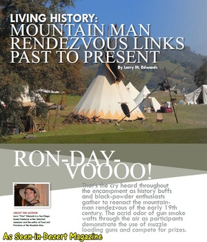 Living History: Mountain Men Rendezvouz