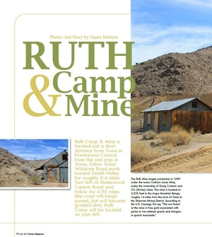 Ruth Camp and Mine