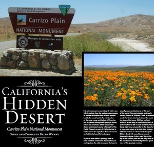 California's Hidden Desert, Carrizo Plain National Monument
