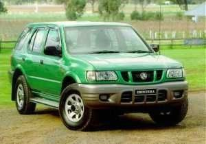 Isuzu Holden Opel Frontera 1999 2000 2001 repair manual