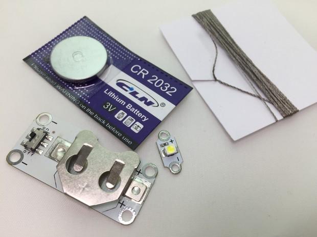 LED Cuff Instructions