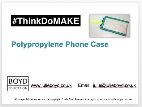 How to make a phone case made from a polypropylene rubble sack (Free or Pay What You Want)