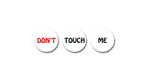 "Managing Conflict:  ""Don't Touch Me""  -Workplace Harassment Training Worksheets"