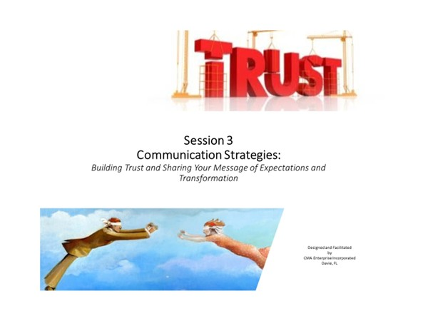 Leadership Development:  Building Trust  -  The Series