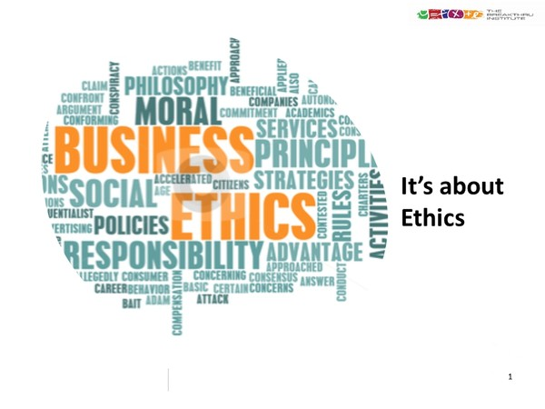 HR and Compliance:  Workplace Ethics