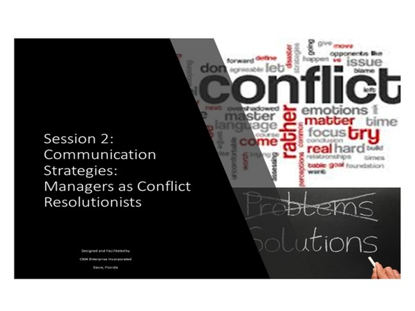 Leadership:  Managing Conflict:  Filtering Barriers to Communication