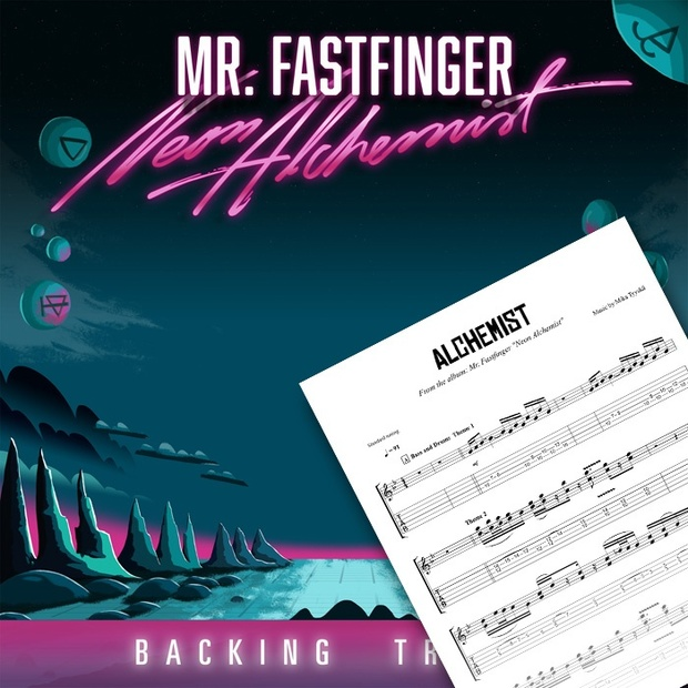Neon Alchemist - Backing Tracks and Tabs