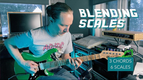 6 Scales of 3 Chords Blending Scales - Free Lesson