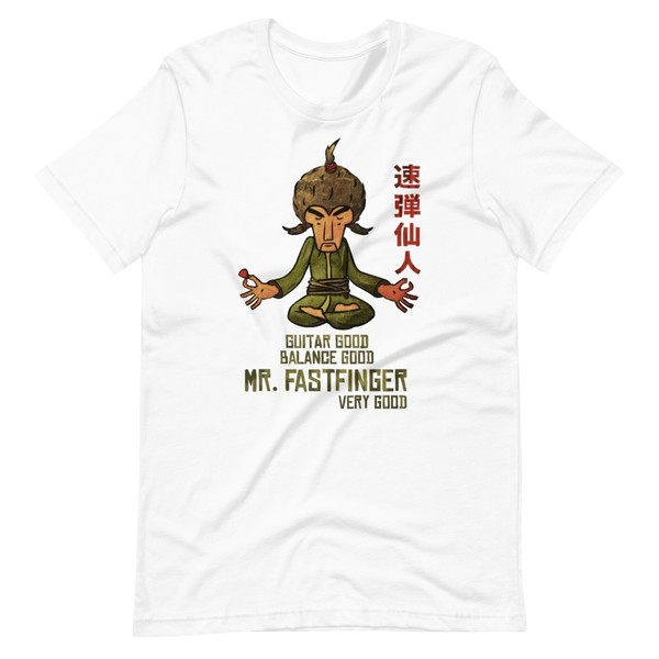 Mr. Fastfinger T-Shirt (unisex)