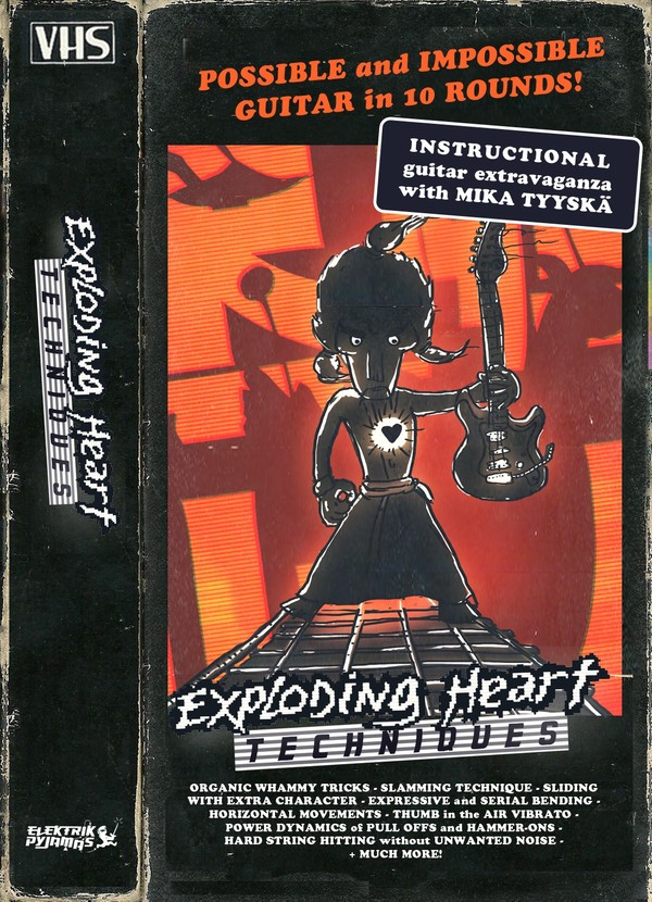 Exploding Heart Techniques - Instructional guitar video package