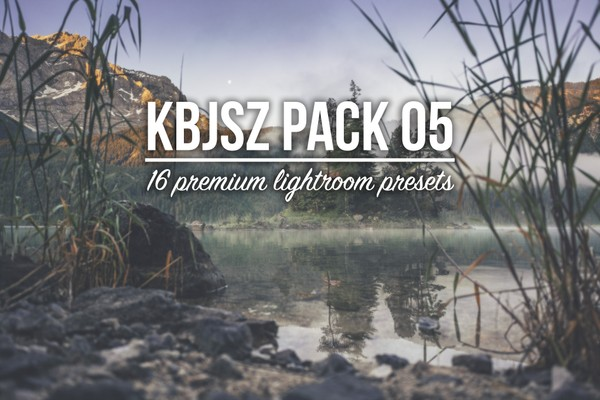 KBJSZ pack 05 - 16 premium lightroom presets (.xmp format)
