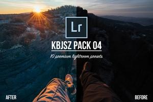 KBJSZ pack 04 - 10 premium lightroom presets