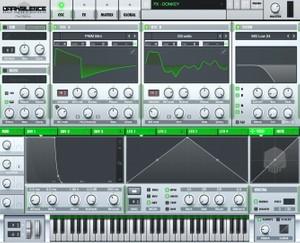 Dark Silence Sound Design ALPHA V1 GREEN XFER SERUM SKIN