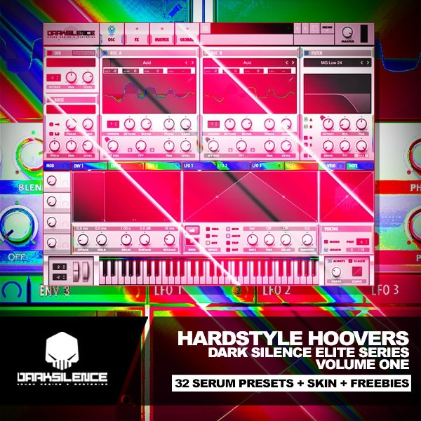HARDSTYLE HOOVERS VOL 1 FOR XFER SERUM