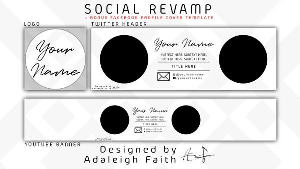 Simplistic Social Revamp Pack