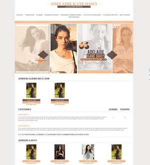 Coppermine Theme #1