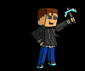 Auto-shaded Minecraft Skin!
