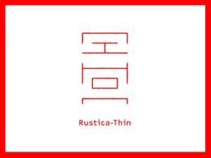 Nihon Rustica - Thin