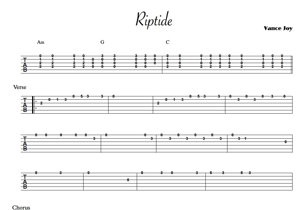 riptide sheet music - Denmar.impulsar.co