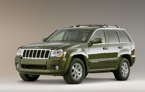 Jeep Grand Cherokee 2009 repair manual
