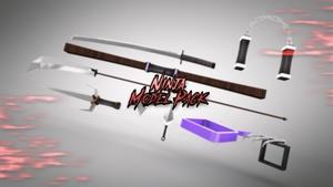 Ninja C4D Model Pack - Jays