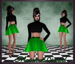MxD - Mai Top & Skirt