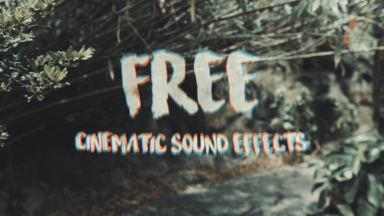 16 FREE CINEMATIC SOUND EFFECTS ( TRAVEL VIDEOS )