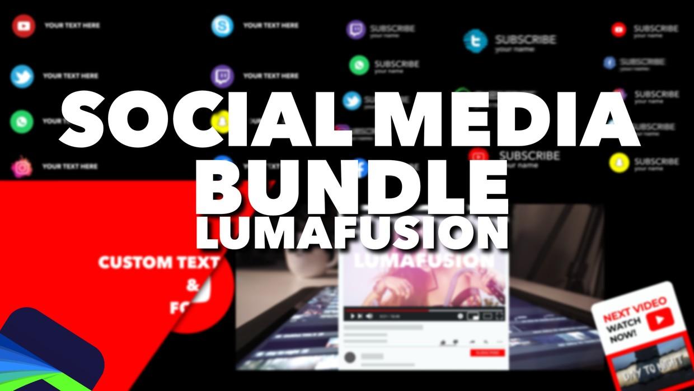 LumaFusion SOCIAL MEDIA BUNDLE (45+ Project Files!)