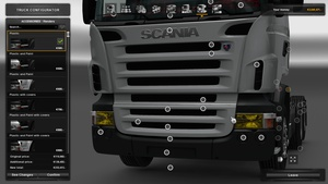 Ronny Ceusters - Yellow Headlights For Scania RJL