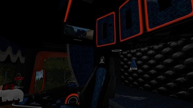Custom Scania RJL V2.2.2 - Including Interior!