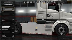 Flat Sideskirts For Scania T RJL