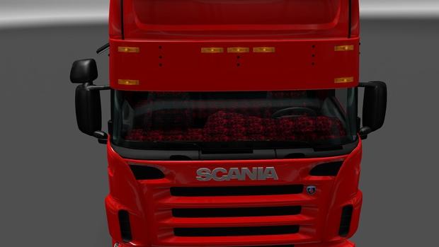 420mm Sunvisor For Scania RJL