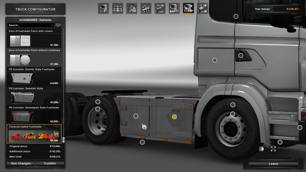 Sideskirts For RJL With Exhaust