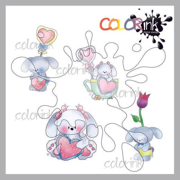 Hoppy Bunnies mini collection