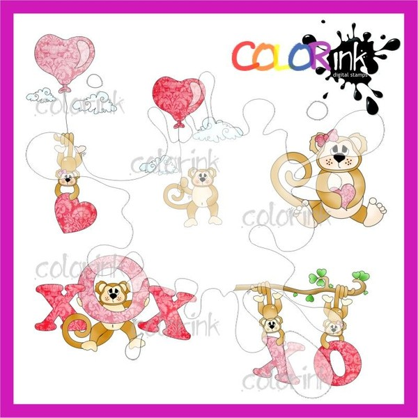 Monkey Love collection