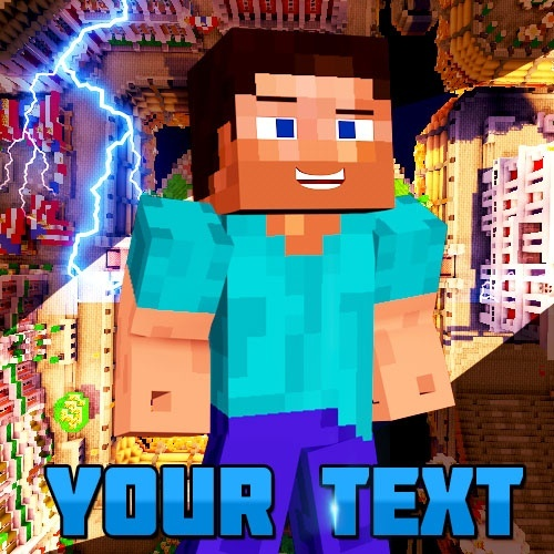 High quality minecraft youtube profile pictureicon te high quality minecraft youtube profile pictureicon template photoshop file maxwellsz