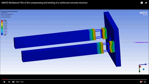 MECHDAT files and 3D model for reinforced concrete tests