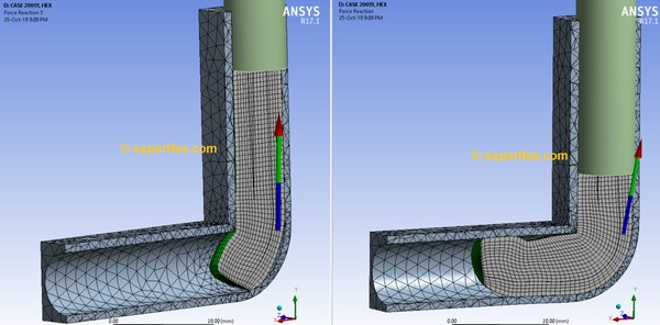 ANSYS Workbench 17.1 Mechdat file and 3D model for copper cold extrusion