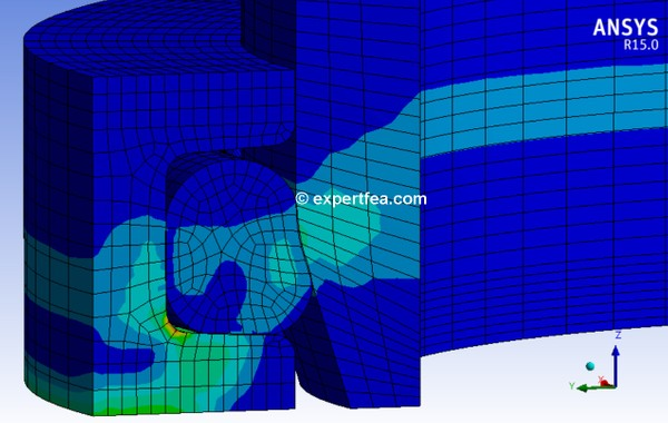 ANSYS Workbench 15.0 Mechdat file and 3D model for o-ring